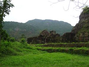 Mỹ Sơn ruins in Central Vietnam. In one week of the