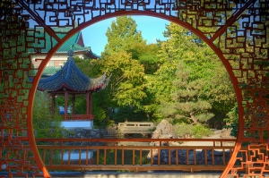Chinese Gardens are an important part of Chinese cultural diplomacy.