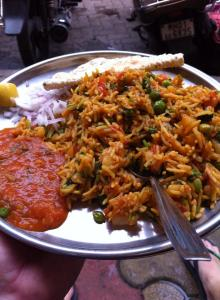 Street food in India